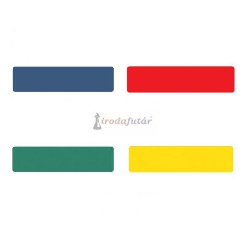 """""""CSÍK"""" alakú padlómatrica négy féle színben (piros)"""