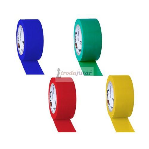 Padlójelölő szalag négy féle színben (sárga)