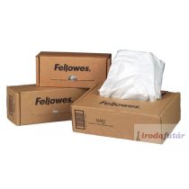 Hulladékgyűjtő zsák iratmegsemmisítőhöz, 110-130 literes kapacitásig, FELLOWES