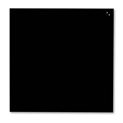 Fekete mágneses üvegtábla (100 x 100 cm)