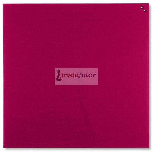 Piros mágneses üvegtábla (100 x 100 cm)