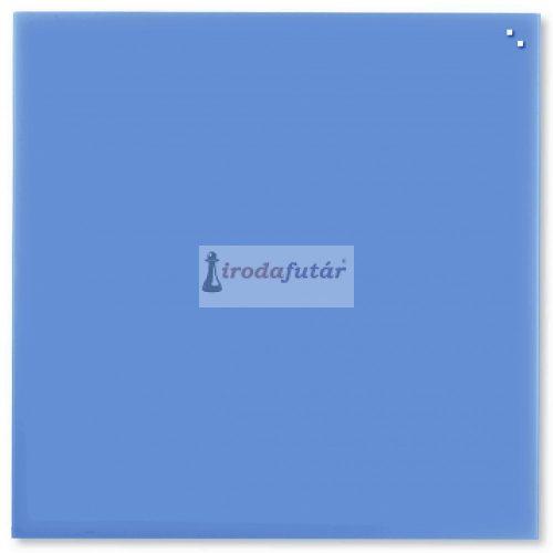 Kobaltkék mágneses üvegtábla (100 x 100 cm)