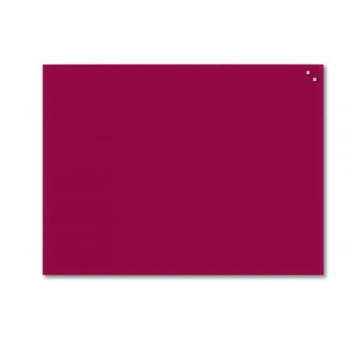 Piros mágneses üvegtábla (60 x 80 cm)