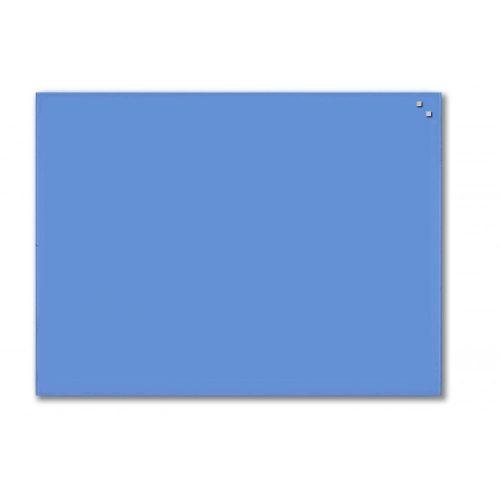 Kobaltkék mágneses üvegtábla (60 x 80 cm)