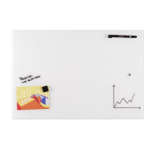 Fehér mágneses üvegtábla (40 x 60 cm)