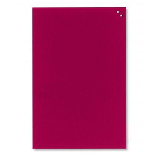 Piros mágneses üvegtábla (40 x 60 cm)