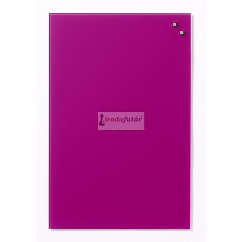 Pink mágneses üvegtábla (40 x 60 cm)