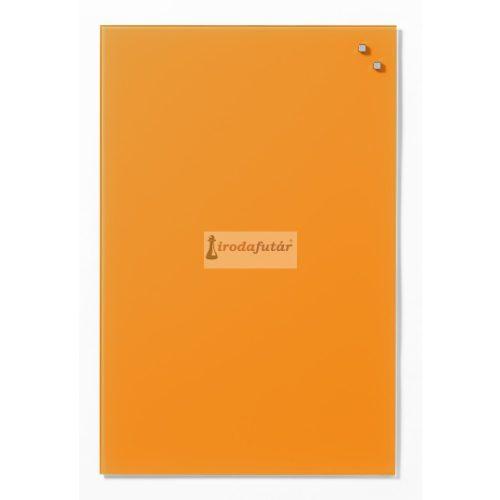 Narancssárga mágneses üvegtábla (40 x 60 cm)