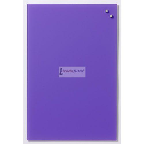 Sötét lila mágneses üvegtábla (40 x 60 cm)