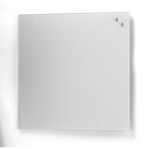 Ezüst mágneses üvegtábla (45 x 45 cm)