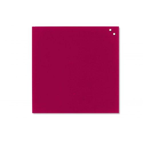 Piros mágneses üvegtábla (45 x 45 cm)