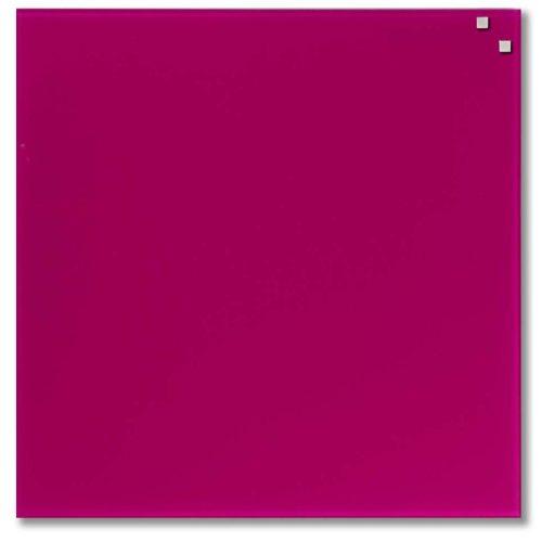 Pink mágneses üvegtábla (45 x 45 cm)