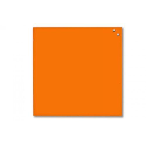 Narancssárga mágneses üvegtábla (45 x 45 cm)