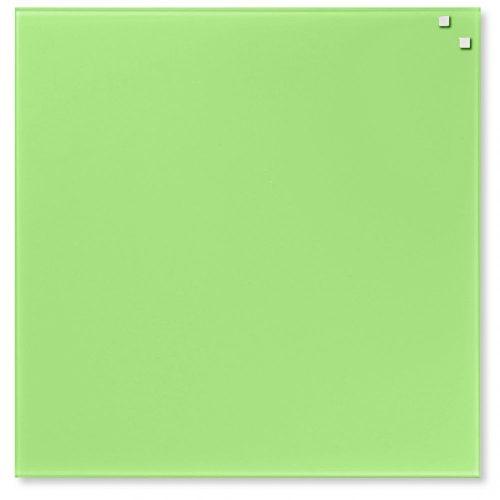 Világoszöld mágneses üvegtábla (45 x 45 cm)