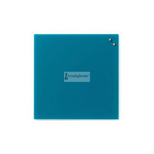 Tengerzöld mágneses üvegtábla (45 x 45 cm)