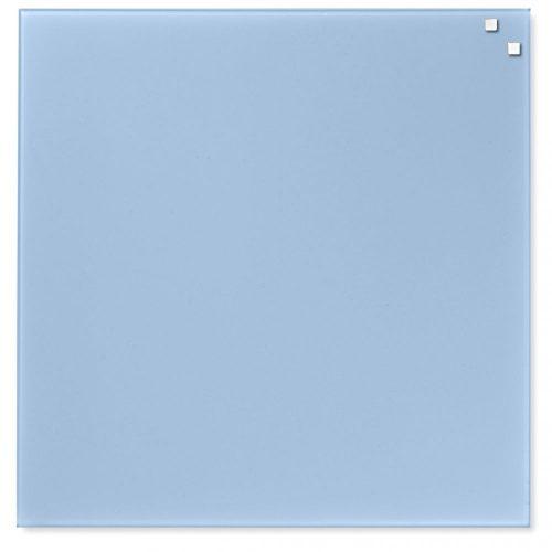 Világoskék mágneses üvegtábla (45 x 45 cm)
