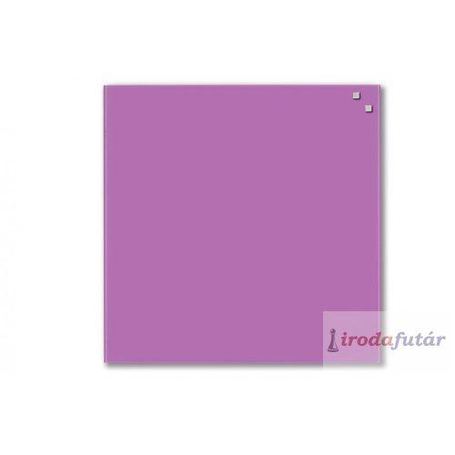 Sötét lila mágneses üvegtábla (45 x 45 cm)