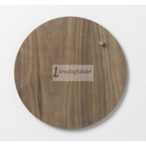 Magnetic Circle board dia. 25 cm. Walnut