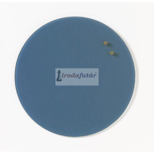 Farmer kék köralakú mágneses üvegtábla (35 cm)