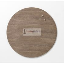 Magnetic Circle board dia. 45 cm. Walnut