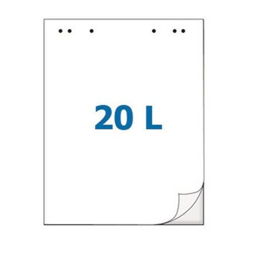 SPOKO Sima, minta nélküli papírblokk Flipchart táblákhoz (5 tömb)