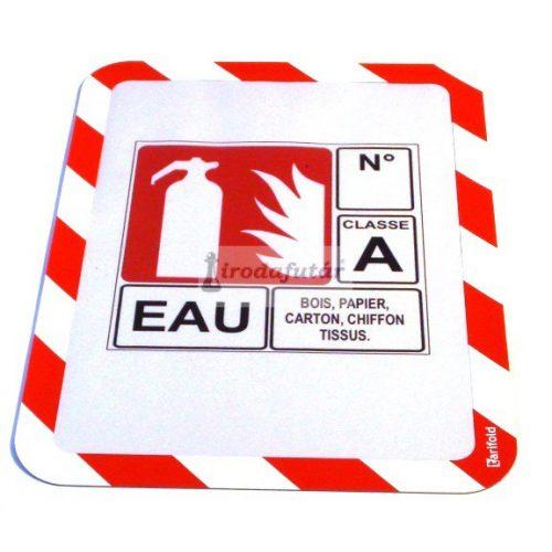 Magneto Safety mágneses tasak piros - fehér, A4