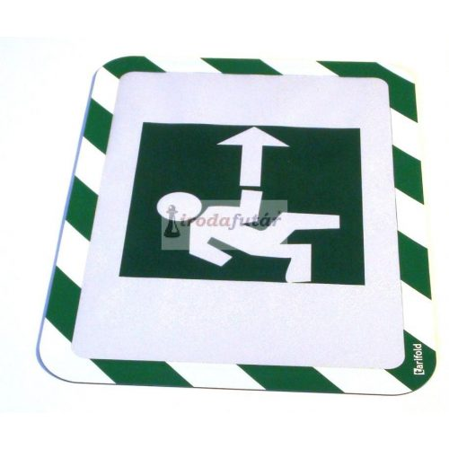 Magneto Safety öntapadó tasak zöld - fehér, A4         Visszaszedhető!!